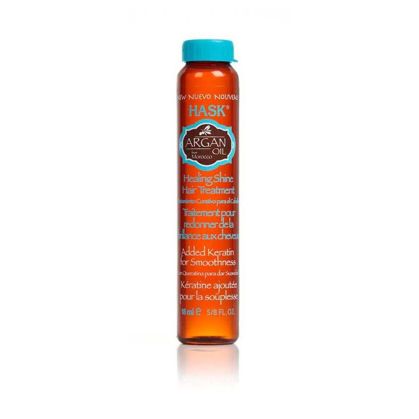 HASK Масло для восстановления и придания блеска волосам с экстрактом Арганы
