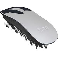 Купить IKOO Щетка для волос HOME METALLIC Устричный металлик, черные зубчики 1 шт.
