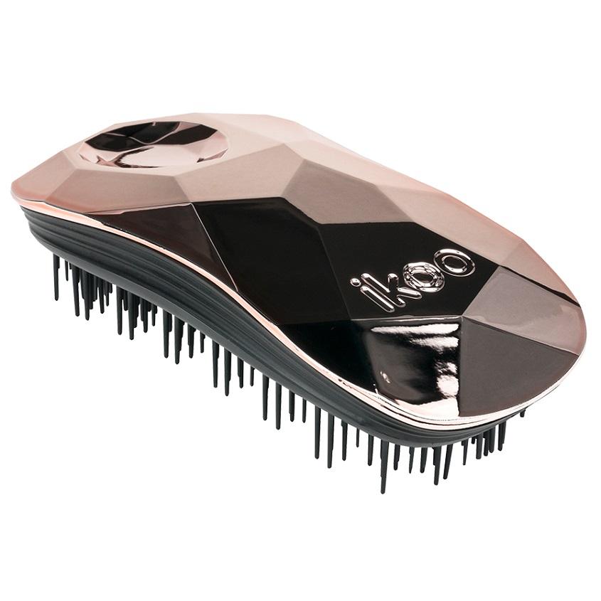 IKOO Щетка для волос HOME Glamour Золотоискатель, черные зубчики