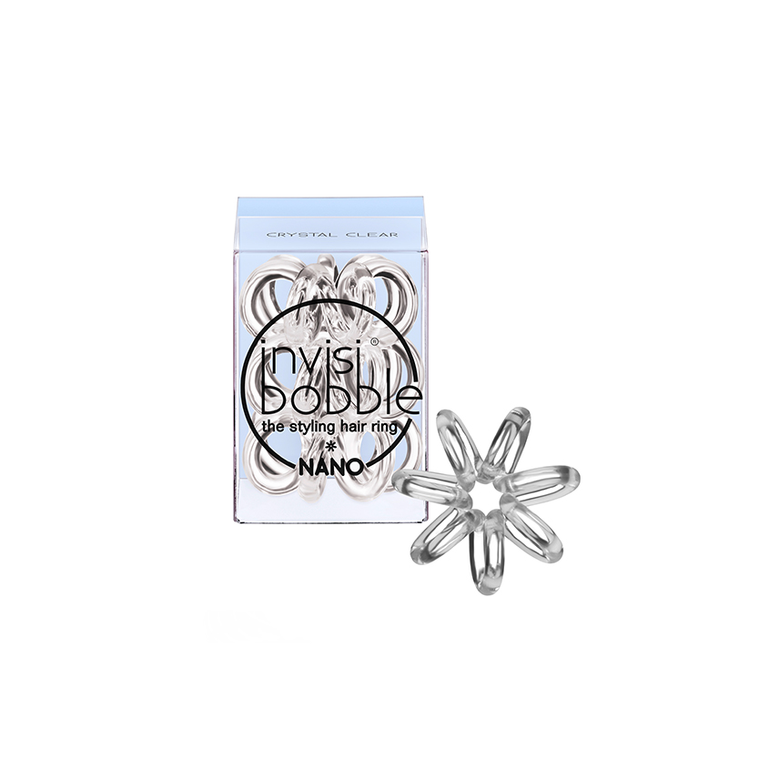 INVISIBOBBLE Резинка для волос invisibobble NANO Crystal Clear