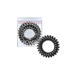 Фото #1: INVISIBOBBLE Резинка-браслет для волос invisibobble POWER True Black 3 шт.
