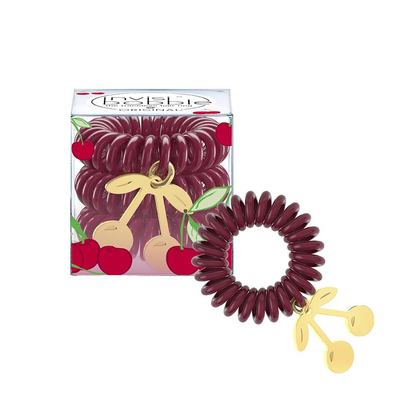 INVISIBOBBLE Резинка-браслет для волос invisibobble TUTTI FRUTTI Cherry Cherie