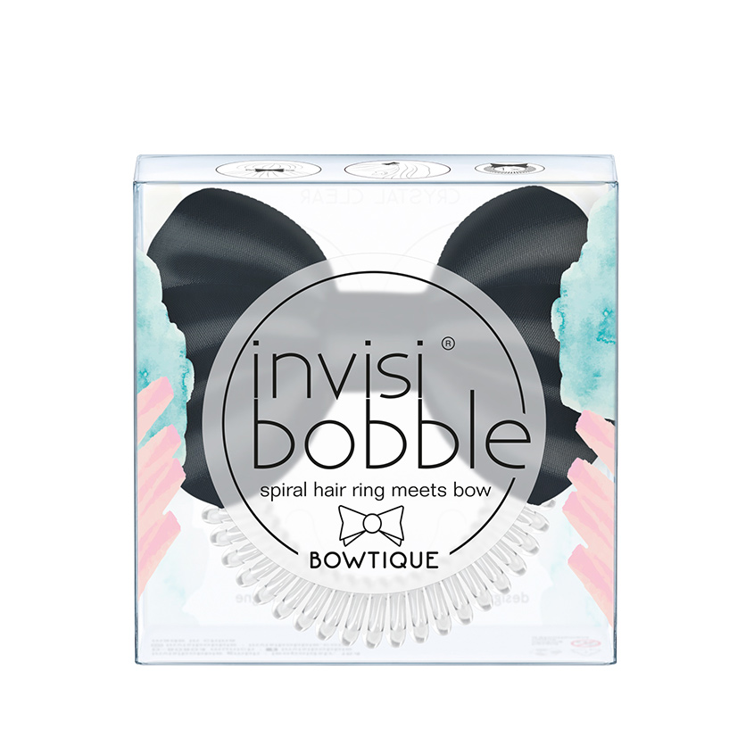 INVISIBOBBLE Резинка для волос invisibobble BOWTIQUE True Black
