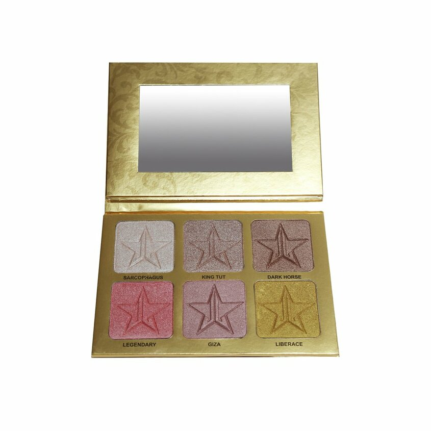 JEFFREE STAR COSMETICS Палетка хайлайтеров для лица 24 Karat Pro