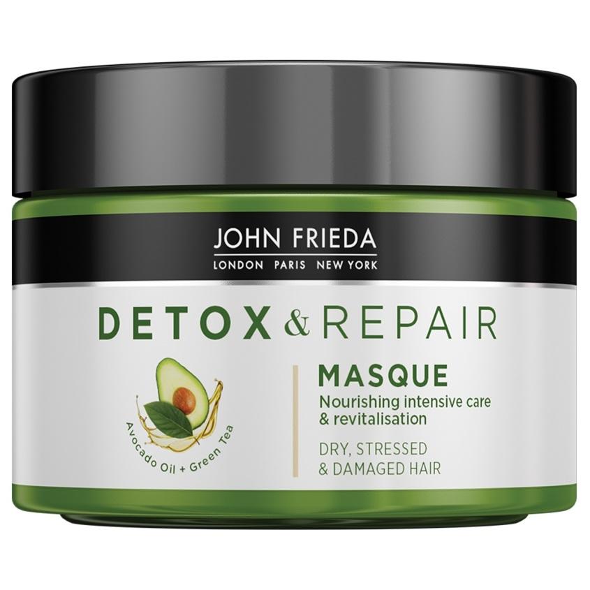 JOHN FRIEDA Маска для интенсивного восстановления волос питательная DETOX&REPAIR