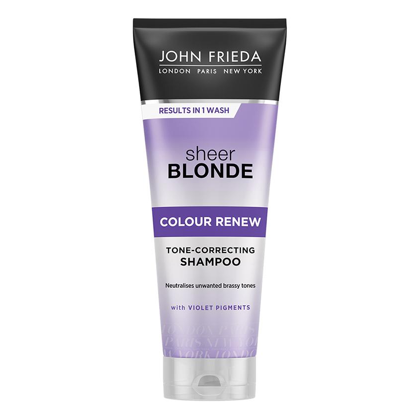 JOHN FRIEDA Шампунь для восстановления и поддержания оттенка осветленных волос SHEER BLONDE СOLOUR RENEW