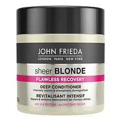 Купить JOHN FRIEDA Маска для окрашенных волос восстанавливающая SHEER BLONDE Flawless Recovery 150 мл