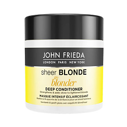 JOHN FRIEDA Маска для светлых волос Sheer Blonde Go Blonder 150 мл john frieda кондиционер осветляющий для натуральных мелированных и окраш волос sheer blonde go blonder 250 мл