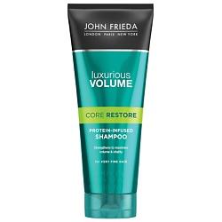 JOHN FRIEDA Шампунь для волос с протеином Luxurious Volume CORE RESTORE 250 мл шампуни aussie шампунь aussome volume для тонких волос 300мл