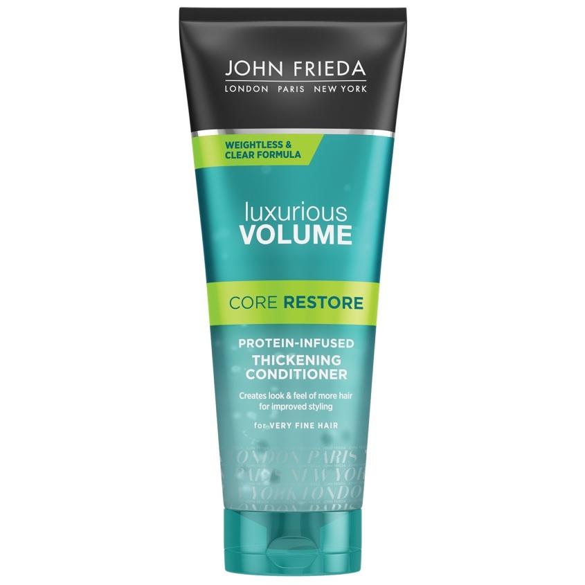 JOHN FRIEDA Прозрачный кондиционер с протеином Luxurious Volume CORE RESTORE