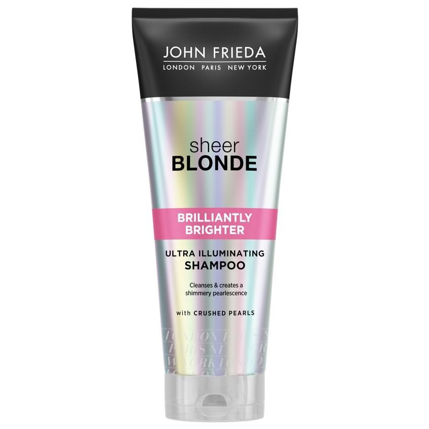 JOHN FRIEDA Шампунь для придания блеска светлым волосам SHEER BLONDE Brilliantly Brighter