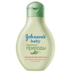 JOHNSONS BABY Увлажняющее молочко дла тела Нежность природы 250 мл