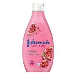 Купить со скидкой JOHNSON'S Преображающий гель для душа с экстрактом цветка граната (c ароматом граната) 250 мл