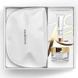 EISENBERG Набор для ухода за кожей с увлажняющим подтягивающим кремом 50 мл + 7,5 мл + косметичка