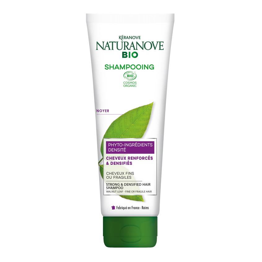 Купить KERANOVE Шампунь для тонких и поврежденных волос Грецкий орех Naturanove BIO