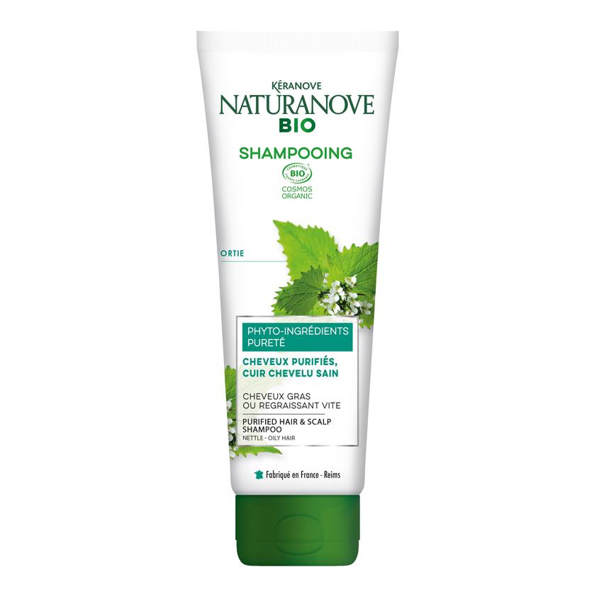 Купить KERANOVE Шампунь для жирных волос Крапива Naturanove BIO