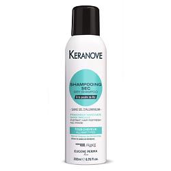 KERANOVE Сухой шампунь для волос без солей алюминия 200 мл
