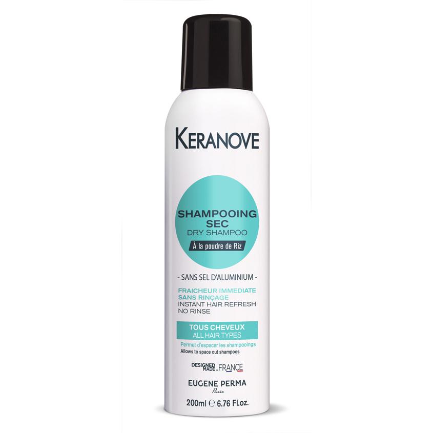 KERANOVE Сухой шампунь для волос без солей алюминия