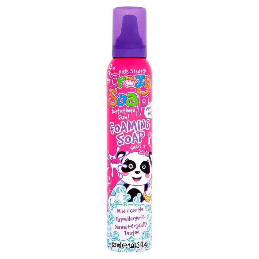 KIDS STUFF Пена-мусс для детских забав и купания в ванной (розовая)