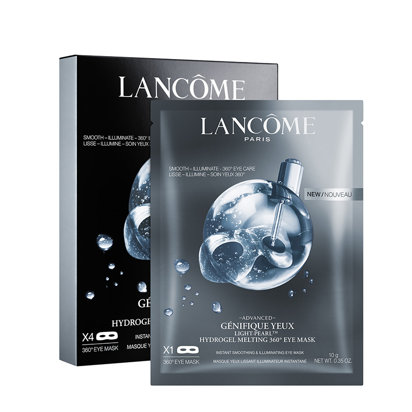 LANCOME Гидрогелевая маска для глаз 360' Advanced Génifique Yeux Light Pearl фото