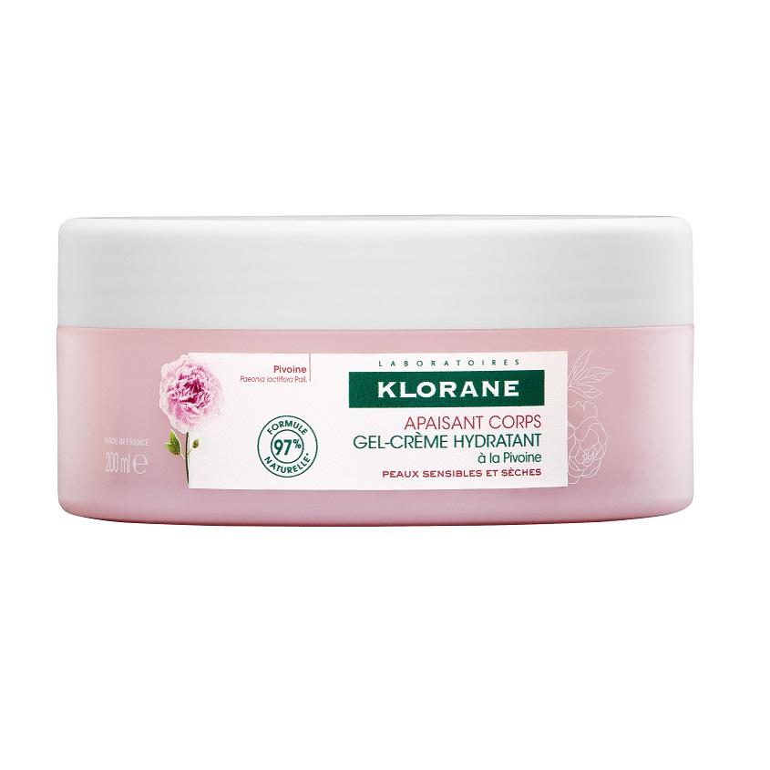 KLORANE Гель-крем для тела увлажняющий с экстрактом Пиона