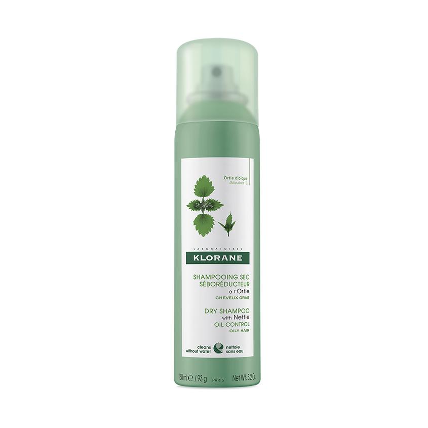 KLORANE Сухой шампунь с экстрактом Крапивы для жирных волос