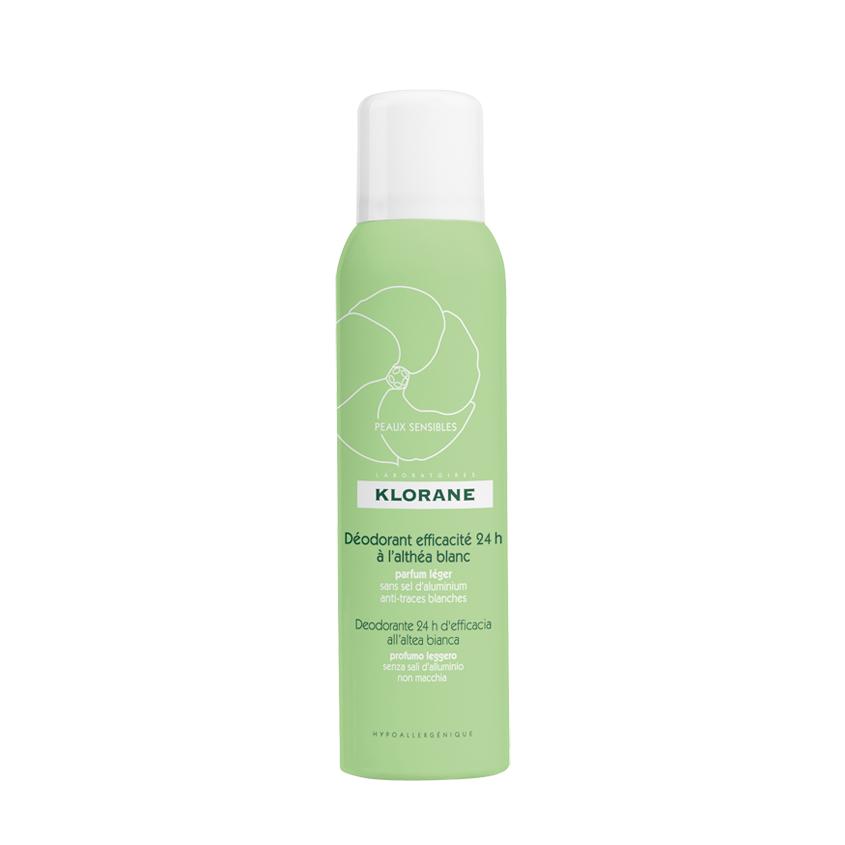 Купить KLORANE Дезодорант-спрей с белым алтеем 24 часа эффективности