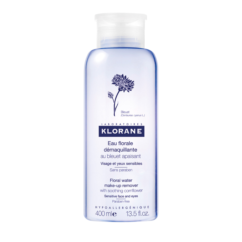 KLORANE Мицеллярная вода для снятия макияжа с экстрактом василька
