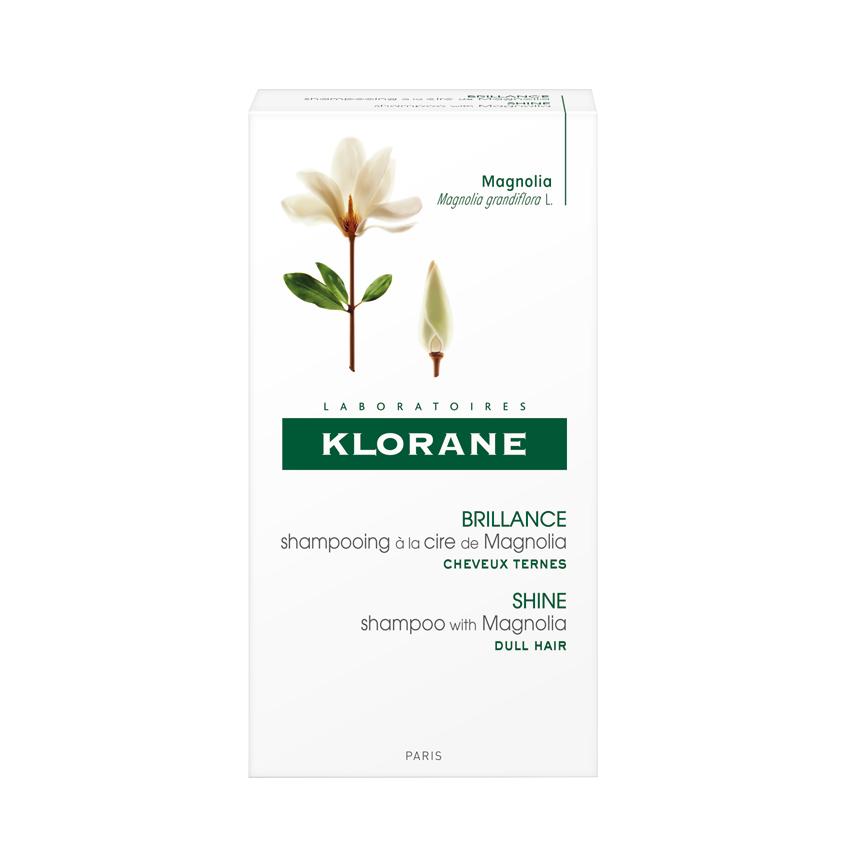 KLORANE Шампунь с воском Магнолии для интенсивного блеска и защиты тусклых волос