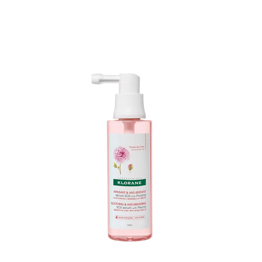 Купить KLORANE Успокаивающая сыворотка с экстрактом Пиона для чувствительной и раздраженной кожи головы