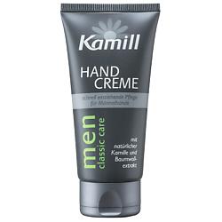 KAMILL Крем для рук для мужчин с экстрактами хлопка и ромашки 75 мл крем для рук с маслом ши и экстрактом оливы без парабенов 35 г rainbowbeauty