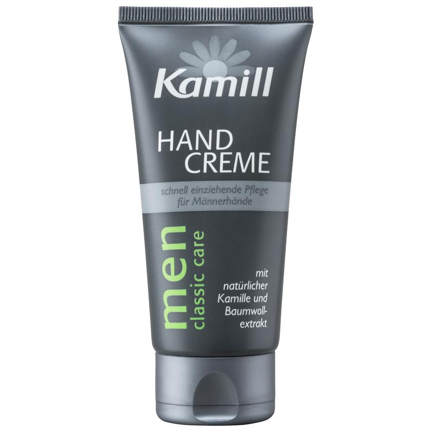 KAMILL Крем для рук для мужчин с экстрактами хлопка и ромашки