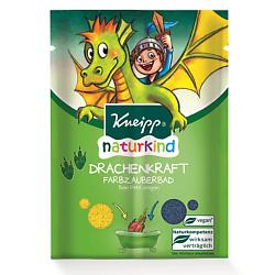 KNEIPP Соль для ванн цветная детская Сила дракона 40 г кнайпп kneipp кристаллы для ванн с эвкалиптом при холодной погоде 500г