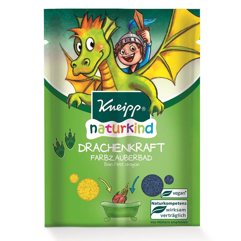 KNEIPP Соль для ванн цветная детская Сила дракона