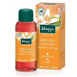 KNEIPP Масло для ванн Прощай стресс с мандарином и апельсином 100 мл кнайпп kneipp кристаллы для ванн с эвкалиптом при холодной погоде 500г