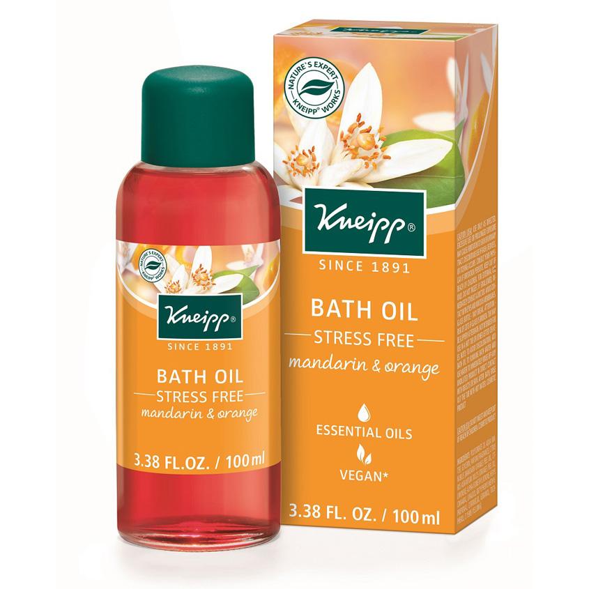 Kneipp Масло для ванн Прощай стресс с мандарином и апельсином