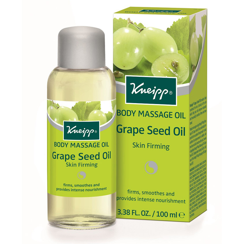 KNEIPP Масло для тела массажное из виноградных косточек