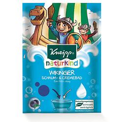 Купить KNEIPP Пена-крем для ванн цветная детская Викинг с ароматом черники 40 мл