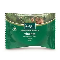 KNEIPP Бомбочка (таблетка) солевая ароматическая для жемчужной ванны еловая 80 г бомбочка для ванны лаванда