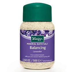 KNEIPP Соль для ванн с лавандой 500 г кнайпп kneipp кристаллы для ванн с эвкалиптом при холодной погоде 500г