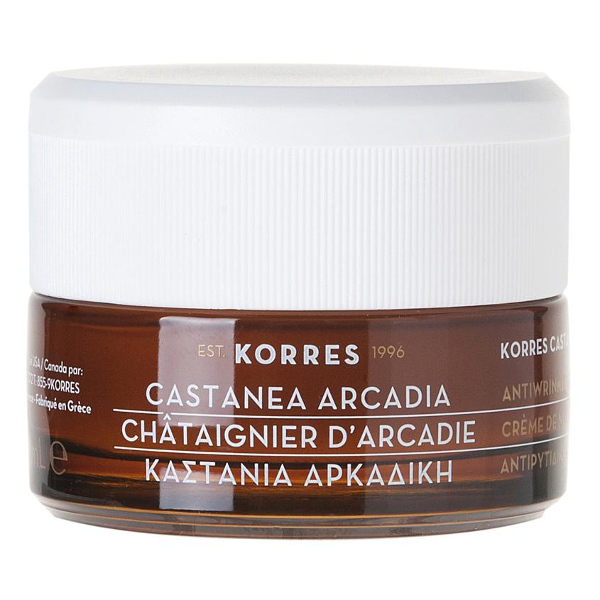 KORRES Дневной укрепляющий крем против морщин для нормальной и комбинированной кожи Castanea Arcadia