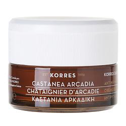 KORRES Дневной укрепляющий крем против морщин для сухой и очень сухой кожи Castanea Arcadia 40 мл