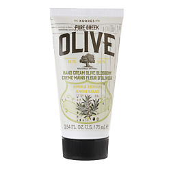 KORRES Крем для рук OLIVE & OLIVE Blossom 75 мл the yeon canola honey silky hand cream крем для рук с экстрактом меда канола 50 мл