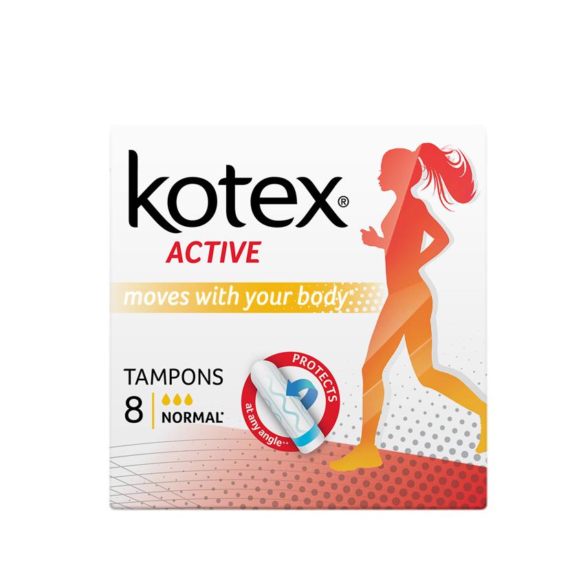 KOTEX Тампоны ACTIVE Нормал