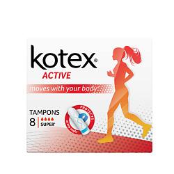 KOTEX Тампоны ACTIVE Супер 8 шт.