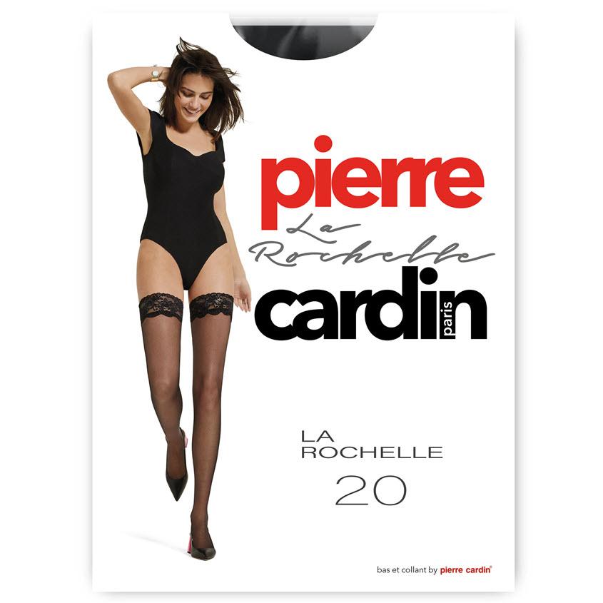 PIERRE CARDIN Чулки женские 20 ден La Rochelle nero