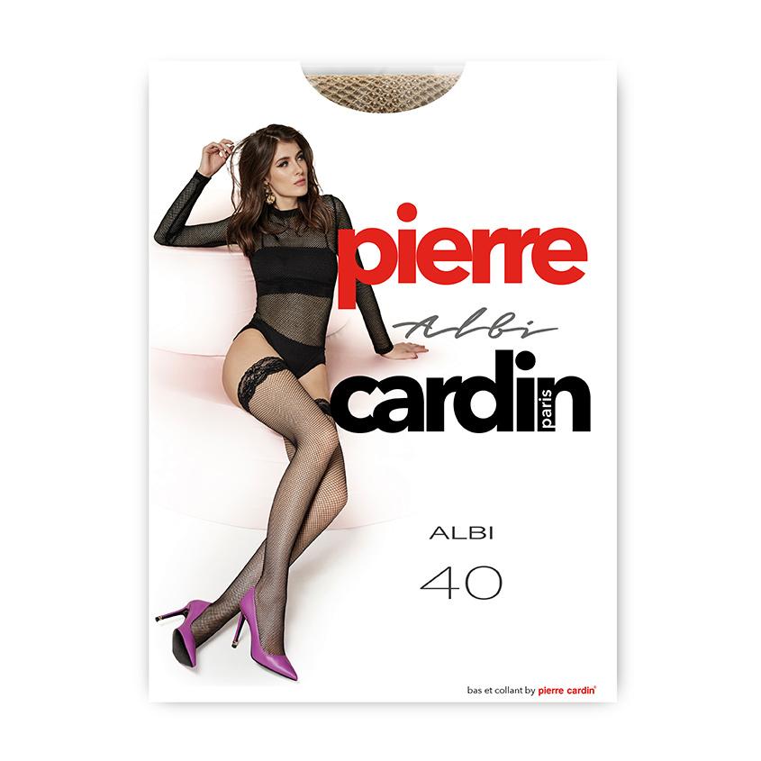 Купить PIERRE CARDIN Чулки женские ALBI 40 ден VISONE