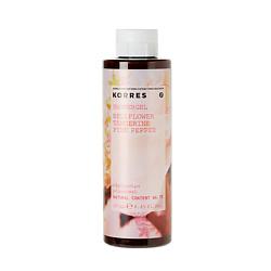 KORRES Гель для душа Колокольчик-Мандарин-Розовый перец 250 мл гель для душа korres горный перец