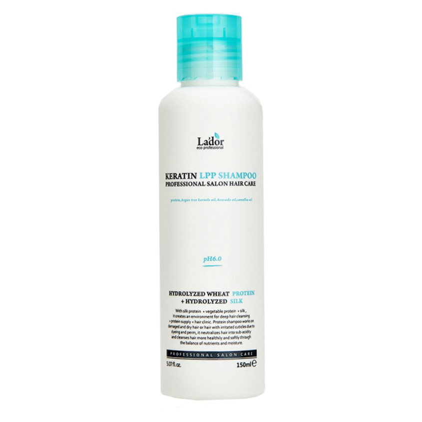 LADOR Шампунь для волос беcсульфатный с кератином