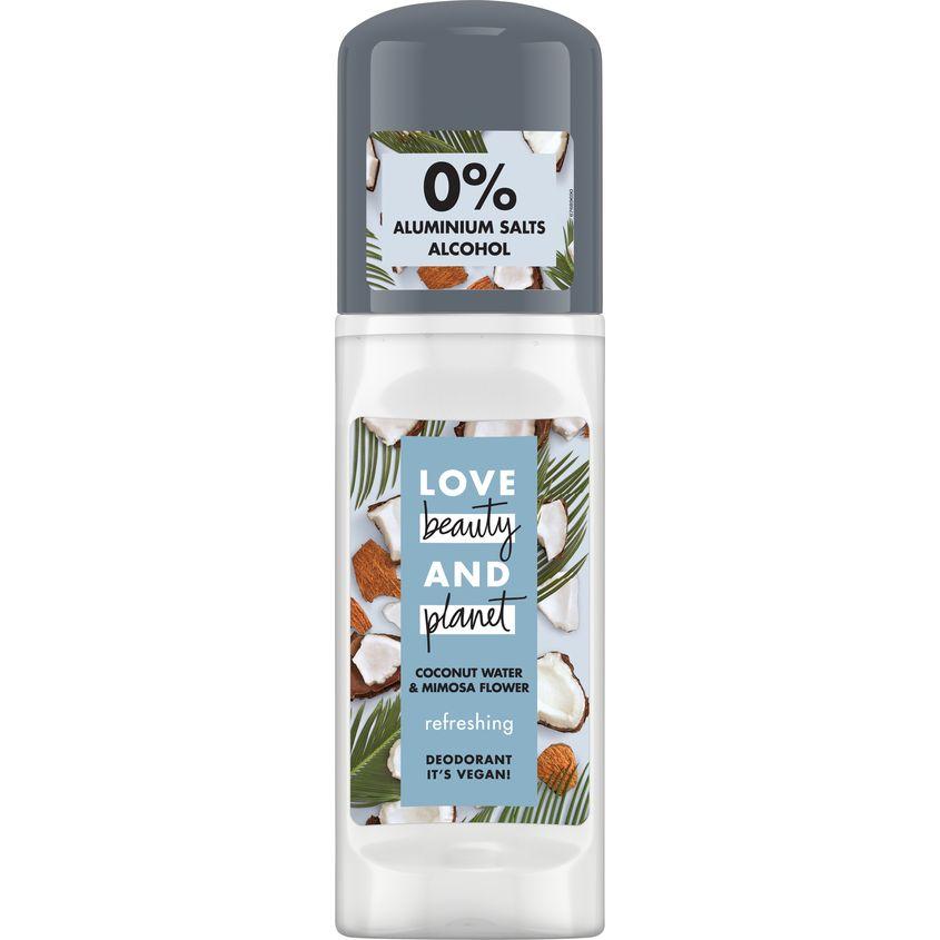 LOVE BEAUTY&PLANET дезодорант шариковый КОКОСОВАЯ ВОДА И ЦВЕТЫ МИМОЗЫ